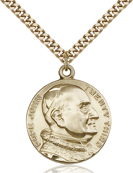 Gold-Filled St. Pope John XXII Pendant