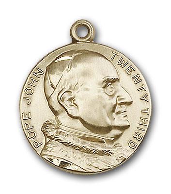14K Gold St. Pope John XXII Pendant - Engravable