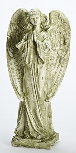22-inch H Praying Garden Angel