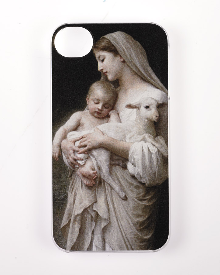 Iphone 4/4S Cover- Bouguerau L'Innocence