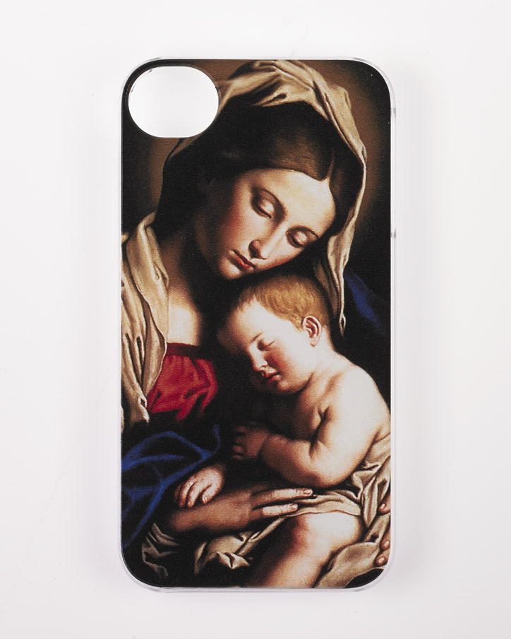 Iphone 4/4S Cover- Sassoferato Madonna and Child