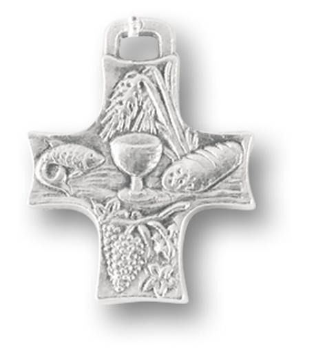 """1"""" Communion Medal 25-Pack"""