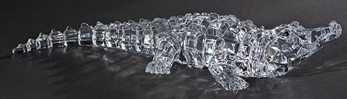 2.5-inch H Acrylic Alligator Figure