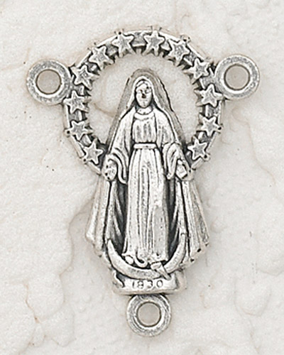 25-Pack - Mary Rosary Centerpiece
