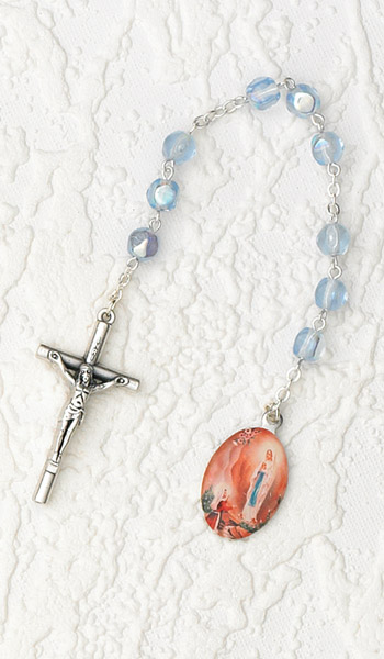 4-Pack - Chaplet- Our Lady of Lourdes