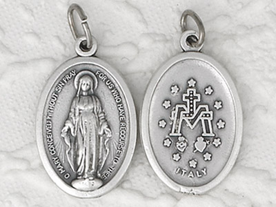 25-Pack - Pendant- Miraculous Medal