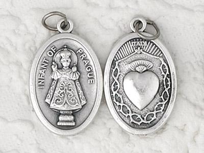 25-Pack - Pendant- INFANT OF PRAGUE/ SACRED HEART