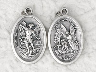 25-Pack - Pendant-GUARDIAN ANGEL/StMICHAEL