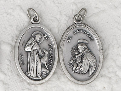 25-Pack - Pendant-ST FRANCIS/ ST ANTHONY
