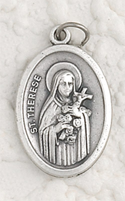 25-Pack - Pendant-ST THERESE/ FLOWERS