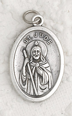 25-Pack - St Jude Oxidized Pendant