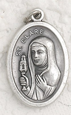 25-Pack - St Clare Oxidized Pendant