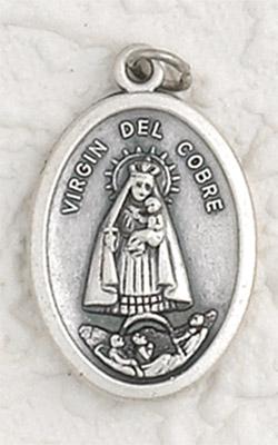 25-Pack - Virgen Del Cobre / Ruega Por Nostros-  Oxidized Pendant