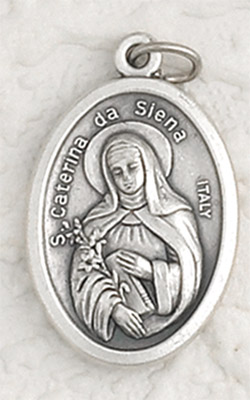 25-Pack - Pendant- St Catherine of Sienna