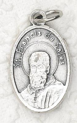 25-Pack - Oxidized Pendant-St Francis De Sales