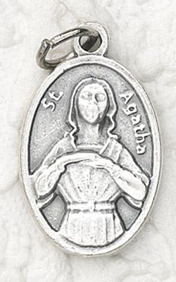 25-Pack - Oxidized Pendant-St Agatha