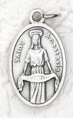 25-Pack - Oxidized Pendant-St Anastasia