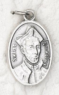 25-Pack - Oxidized Pendant-St Ignatius