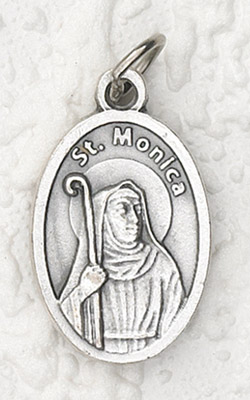 25-Pack - Oxidized Pendant- St Monica