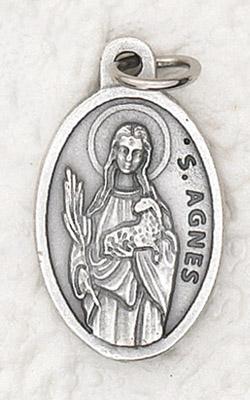 25-Pack - Oxidized Pendant-St Agnes