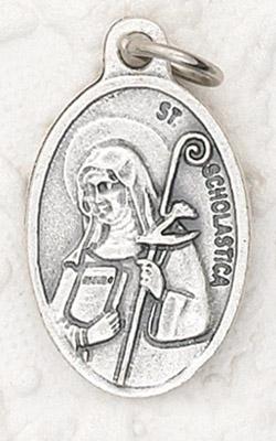 25-Pack - Oxidized Pendant-St Scholastica
