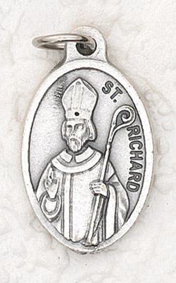 25-Pack - Oxidized Pendant-St Richard