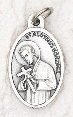 25-Pack - Oxidized Pendant-St Aloysius