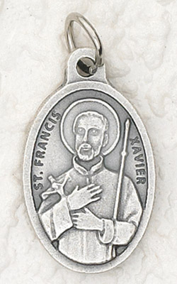 25-Pack - Oxidized Pendant-St Francis Xavier