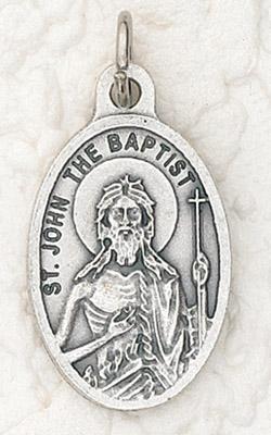 25-Pack - Oxidized Pendant-St John the Baptist