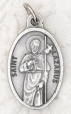 25-Pack - Oxidized Pendant-St Lazarus