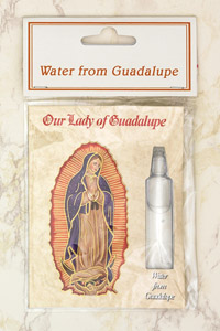 12-Pack - Water from Guadalupe- contains vile with water from Guadalupe