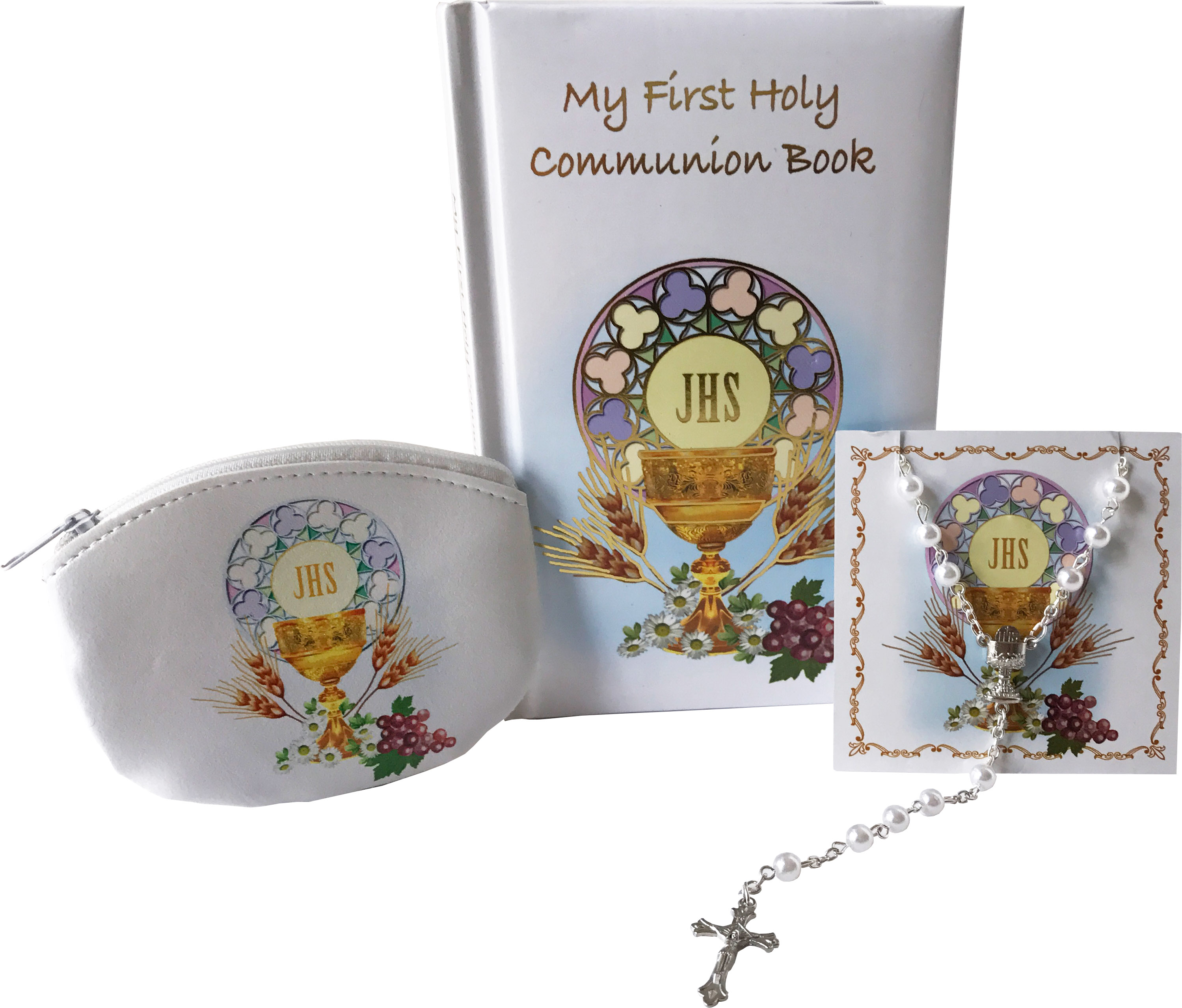 First Holy Communion 3 piece Girl's Gift Set