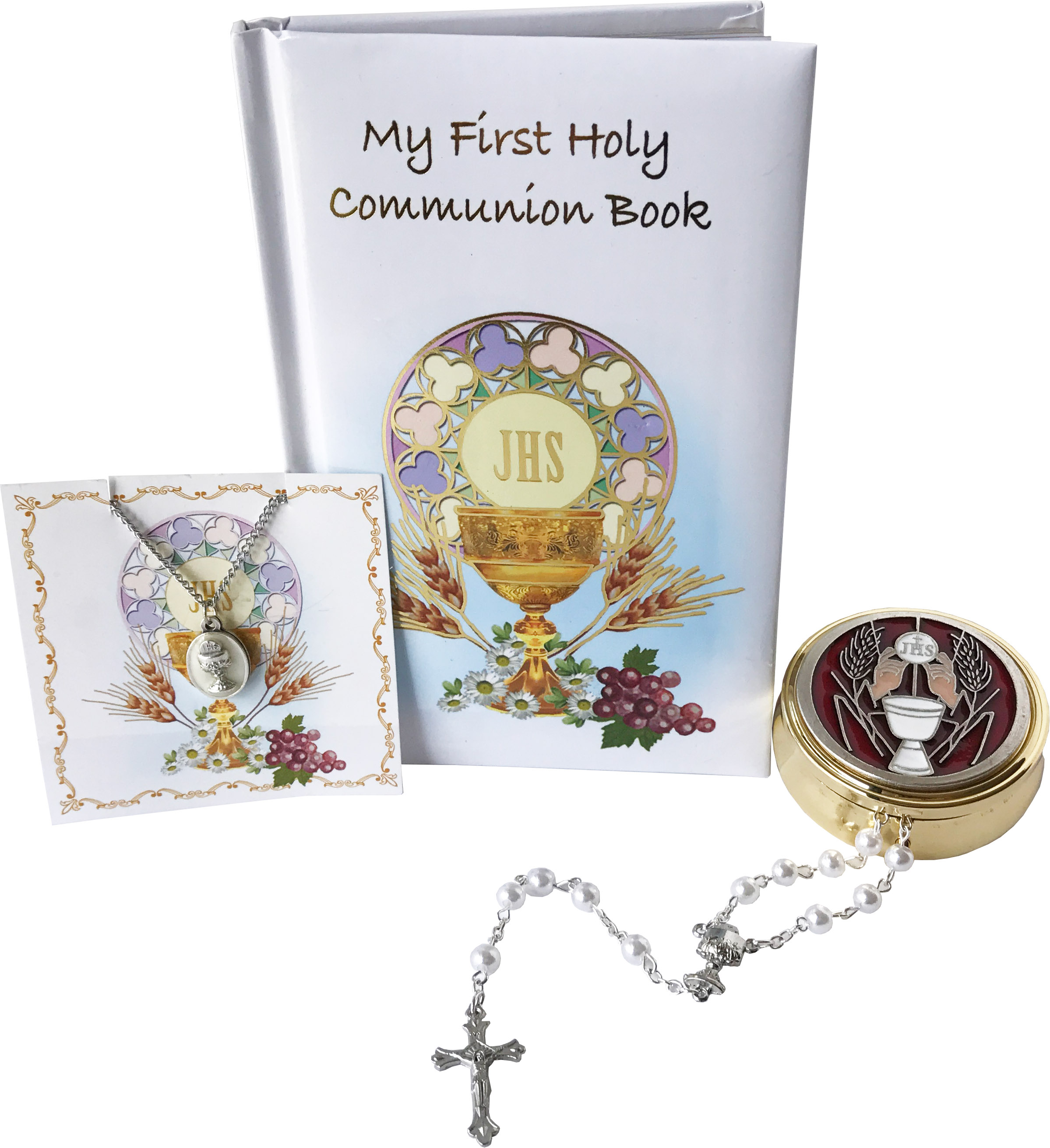 First Holy Communion 4 piece Girl's Gift Set