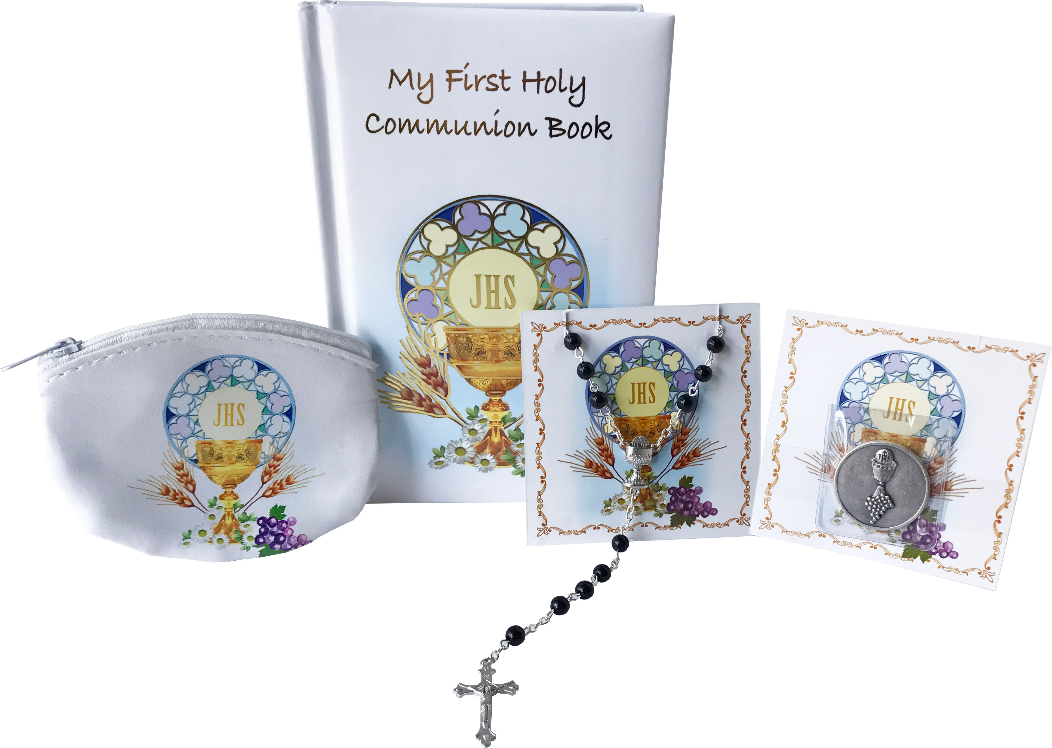 First Holy Communion 4 piece Boy's Gift Set