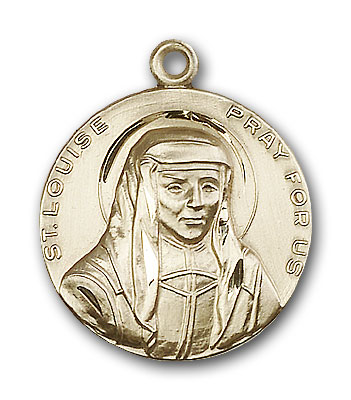 14K Gold St. Louise Pendant - Engravable
