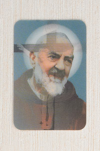12-Pack - 3-D Card - Crucifixion/ Padre Pio
