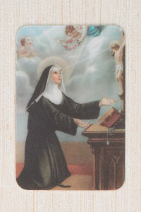 12-Pack - 3-D Card - Devotion of St Rita