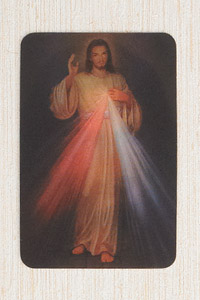 12-Pack - 3-D Card - Divine Mercy