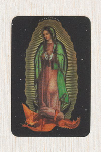 12-Pack - 3-D Card - Lady of Guadalupe