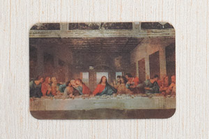 12-Pack - 3-D Holographic Card- The Last Supper