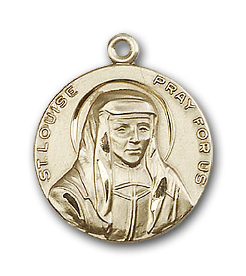 Gold-Filled St. Louise Pendant