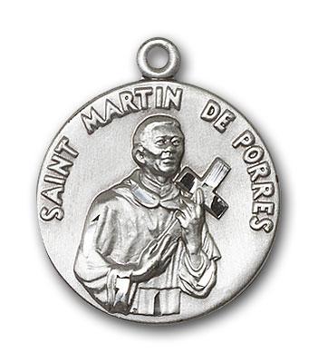 Sterling Silver St. Martin de Porres Pendant