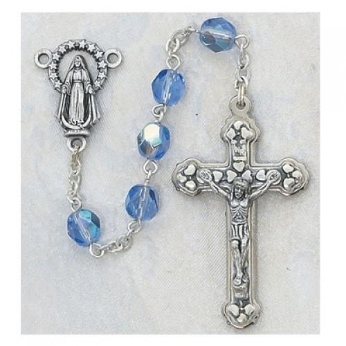 6MM AB Zircon/December Rosary