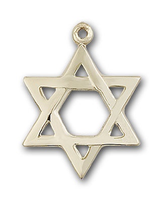 Gold-Filled Star of David Pendant
