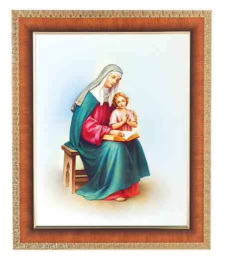 "St. Anne In Cherry Frame 10.25X12.25"" 8X10 Print"