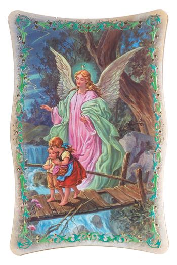 """10""""X15"""" Guardian Angel Plaque"""