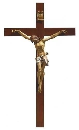 79-inch X 45-inch Fontanini Crucifix