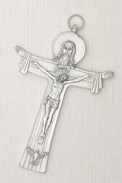 Cross of the Holy Trinity- 6 inch