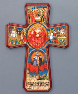 6 Inch Cross of the Trinity