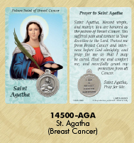 St. agatha patron saint of breast cancer